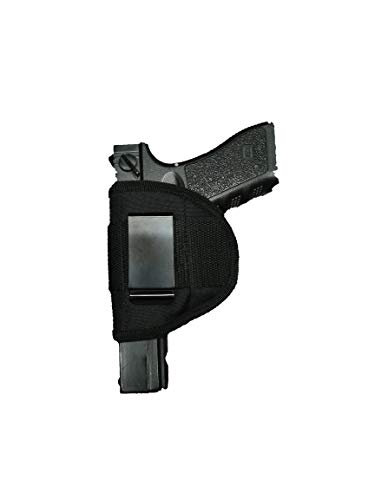 PRO TACTICAL  1 PRO TACTICAL Gun Holster IWB Concealment Holster in The Pants Holster FITS Glock 17 19 21 22 23 and Most Full Size Automatic and Some Revolvers