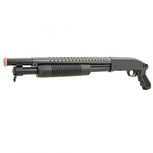 BBTac  1 BBTac Airsoft Pump Action Shotgun Rifle 400 FPS Police