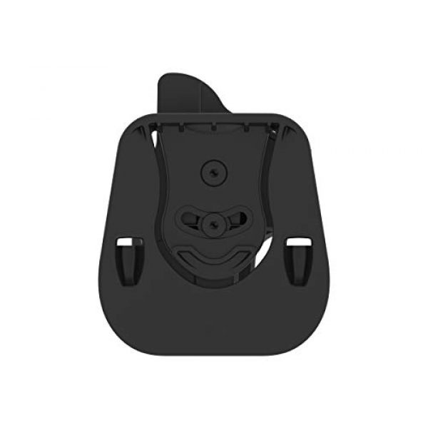 Outside Waistband Holster with Adjustable Cant
