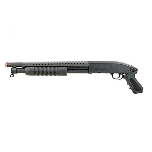 BBTac  2 BBTac Airsoft Pump Action Shotgun Rifle 400 FPS Police