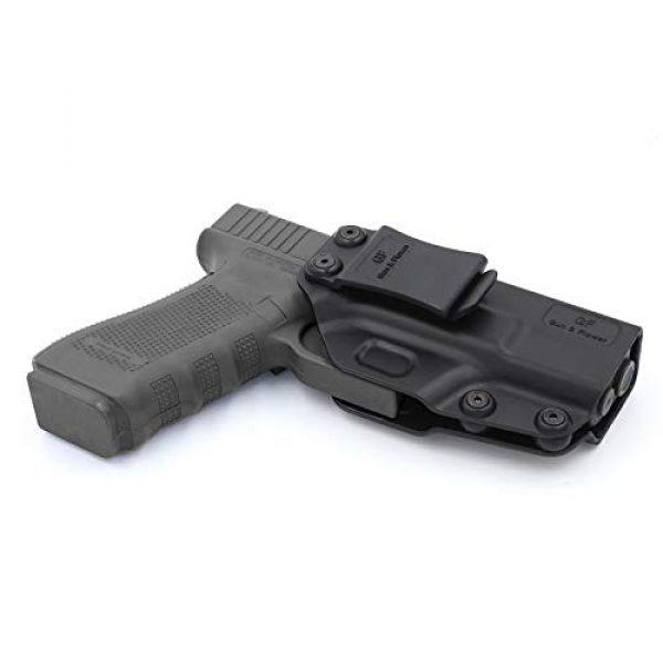 Gun&Flower  3 Gun&Flower Inside Waistband Concealed Carry - IWB Polymer Holster - Adjustable Ride/Cant/Retention