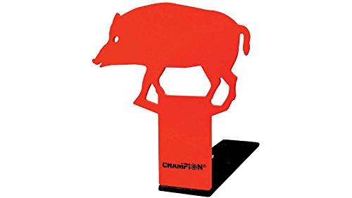 Champion Traps and Targets Airsoft Target 2 Champion Pop-Up Hog 22 Rimfire Metal Target
