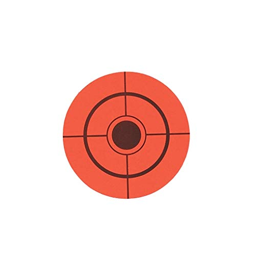 Target House Airsoft Target 1 250 Pack Diameter 6.5 cm Self Adhesive Target Stickers for Shooting