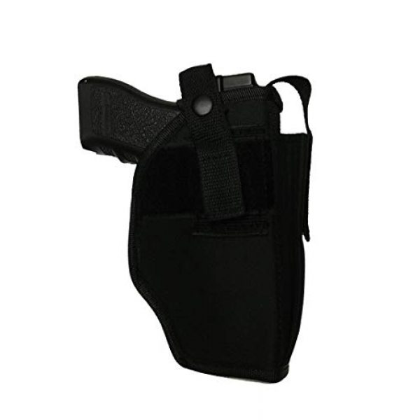 PRO TACTICAL  2 PRO TACTICAL Gun Holster Belt Clip OWB for HI-Point 45 ACP with Extra Magazine Pouch