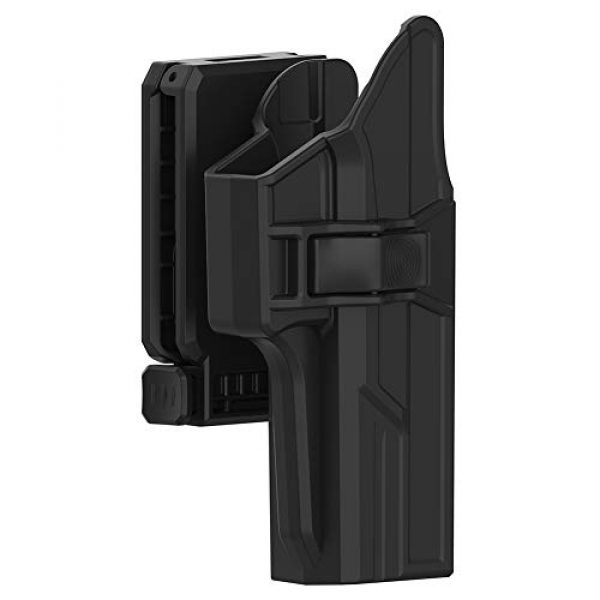 Tactical Outside Waistband Open Carry Belt Holster Fit G17 G22 G31 with Quick Release