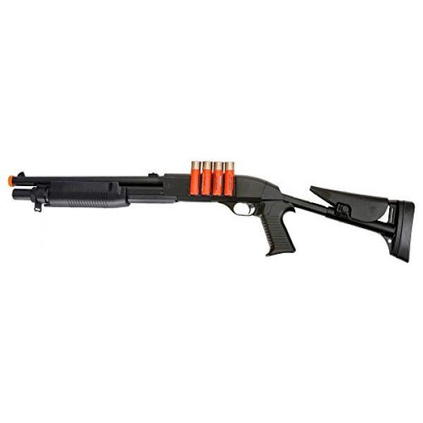 Double Eagle  1 Double Eagle VA183A3 Airsoft Spring Action Pump Shotgun with Adjustable Stock Airsoft Gun