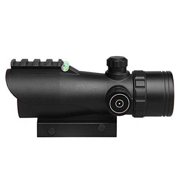 Sniper Airsoft Gun Sight 2 Sniper RD30SR 1x30mm 3 MOA Red Dot Sight Fit 20mm Picatinny Rail