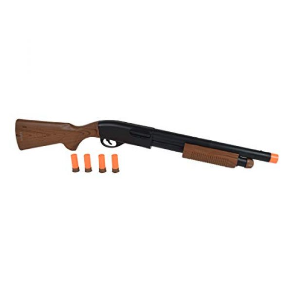 Sunny Days Entertainment  3 Sunny Days Entertainment Pump Action Shotgun with Realistic Sounds and Ejecting Play Shells | Hunting Role Play Toy | Cowboy Costume for Kids Maxx Action