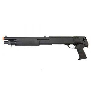 Double Eagle  1 Double Eagle DE M3 Multi-Shot Triple Burst Sawed Off Airsoft Tactical Shotgun