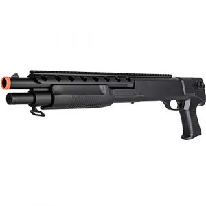 BBTac  1 BBTac Airsoft Shotgun M309 Pump Action - Tactical Airsoft Shotgun