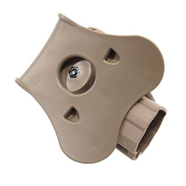 Amomax  2 Amomax Level II Tactical Holster - FDE Color | Fits Airsoft KWA/Umarex USP Full Size/Compact | G