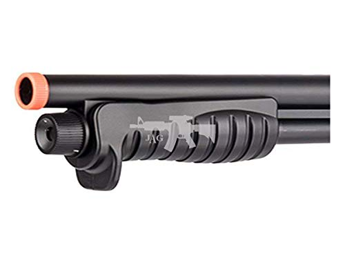 Double Eagle  4 Double Eagle M401 BREACHER Pump Action Spring Powered Airsoft Shotgun Air Soft 6mm BBS 350 FPS