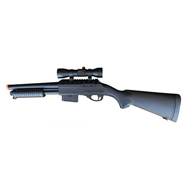 Double Eagle  1 Double Eagle M47A1 M47 UTGA Full Size Quality Heavyweight Tactical Airsoft Spring Powered Pump Action Shotgun Rifle Powerful 300 FPS