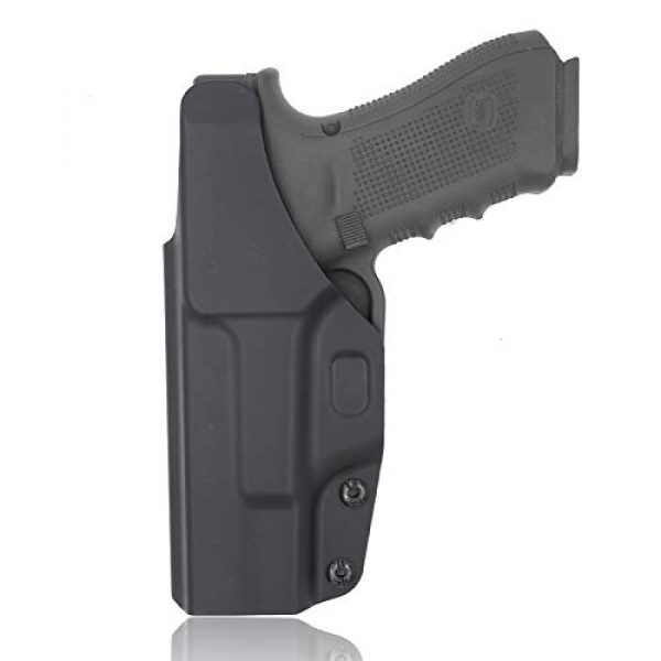 Gun&Flower  2 Gun&Flower Inside Waistband Concealed Carry - IWB Polymer Holster - Adjustable Ride/Cant/Retention