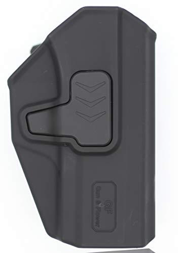 Gun&Flower  2 Gun&Flower OWB Polymer Holster Outside Waistband Concealed Carry Adjustable Ride/Cant/Retention