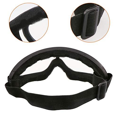 Aoutacc Airsoft Mask 4 Aoutacc Airsoft Mask and Goggles Set