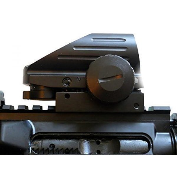 UUQ Airsoft Gun Sight 5 UUQ Tactical Holographic Red Green Reflex Scope Sight 4 Reticles