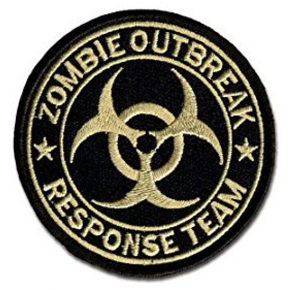 Antrix Airsoft Patch 3 Resident Evil Patches,Antrix 3 Pack Resident Evil Zombie Outbreak Response Team Tactical Morale Patches