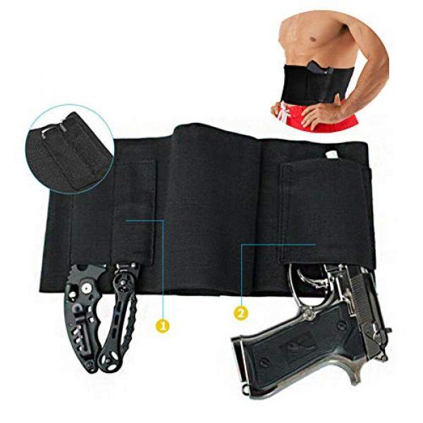YASHALY  1 YASHALY Belly Band Gun Holster