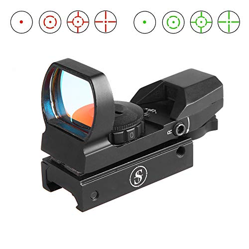TPO Airsoft Gun Sight 1 TPO Sniper RD22F 1X22X33 Red Green Dot Sight