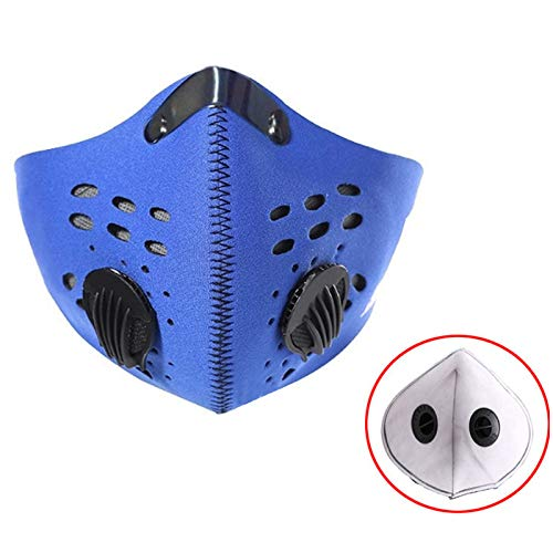 ZLM BAG US Airsoft Mask 3 ZLM BAG US Unisex Dustproof Breathable Valve Velcro Mouth Cover Half Face Mask for Outdoors Cycling Travel