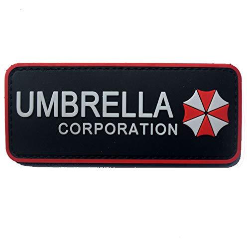 Morton Home Airsoft Patch 1 Morton Home Biohazard Resident Evil Umbrella Corporation Logo 3D PVC Patch (Umbrella Corp I)