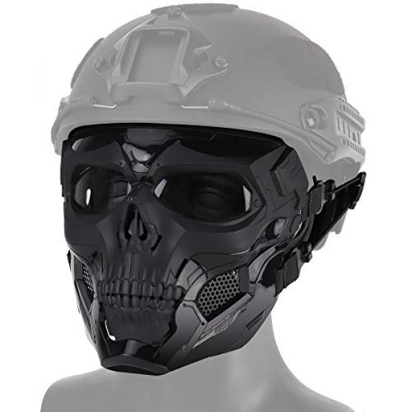 WoSporT Airsoft Mask 2 WoSporT Skull Airsoft Paintball Mask Full Face Tactical Mask with Eye Protection for Tactical Outdoor
