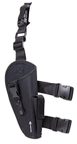 Crosman  1 GameFace SAH04 Airsoft Leg Holster With CO2 Pouch
