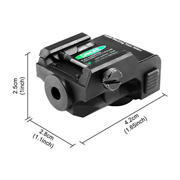 Shockproof Green Dot Sight Used for Pistols and Rifles That Built with 21mm Standard Picatinny Rails