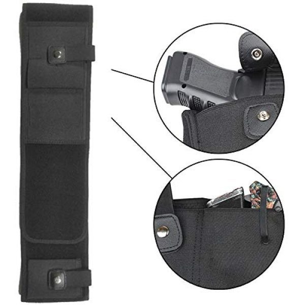 Mudoro  4 Mudoro Belly Band Concealed Hand Gun Holster Suitable for Men and Women - Right or Left Hand