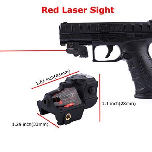 Red Iron Tactical Airsoft Gun Sight 2 Red Iron Tactical Compact Laser Sight for Handguns Rifle Pistol