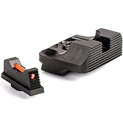 Higoo Airsoft Gun Sight 3 Higoo Tactical Fiber Optic Handgun Pistol Sight Front/Rear Set for Glock