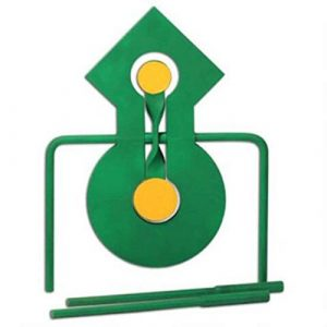Champion Range and Target Airsoft Target 1 Champion Double Reaction Metal Spinner Target
