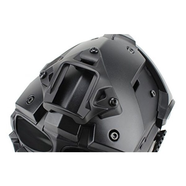 Unknown Airsoft Helmet 3 Tactical Airsoft Full Face Protection