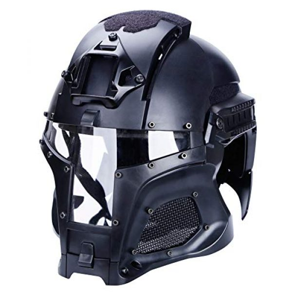 Unknown Airsoft Helmet 3 Tactical Military Airsoft Paintball PC Lens Tactical Helmet