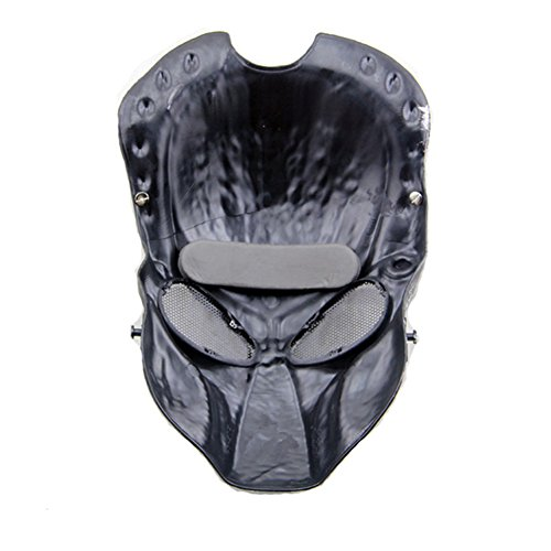 ATAIRSOFT Airsoft Mask 2 ATAIRSOFT Tactical Airsoft Paintball Alien Protective Full Face Mask