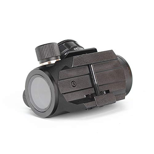 ohhunt Airsoft Gun Sight 5 ohhunt 1X25mm 3 MOA Red Dot Sight Low Power Compact Red Dot Scope 20mm Weaver Picatinny Mount