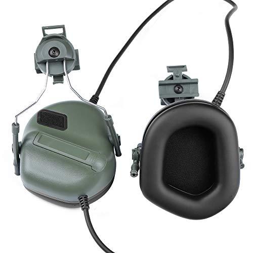 ATAIRSOFT Airsoft Helmet 2 ATAIRSOFT Tactical Headset war Unlimited Power intercom with Microphone Waterproof Headphones