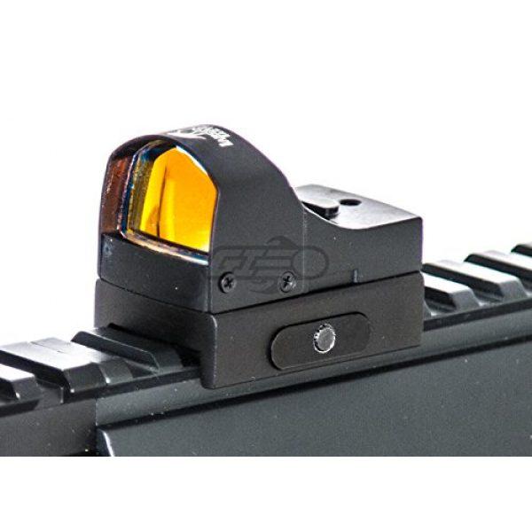 Lancer Tactical Airsoft Gun Sight 3 Lancer Tactical CA-411B Mini Red Dot Reflex Sight