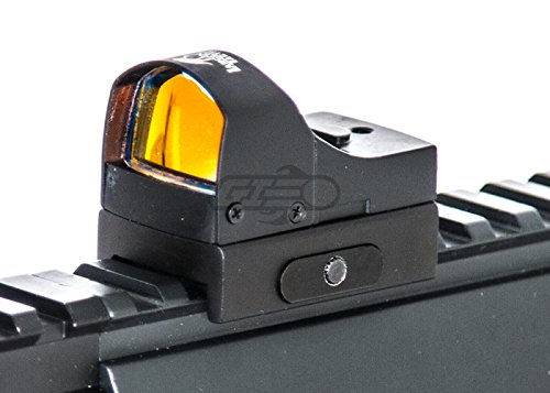 Lancer Tactical Airsoft Gun Sight 3 Lancer Tactical CA-411B Mini Red Dot Reflex Sight