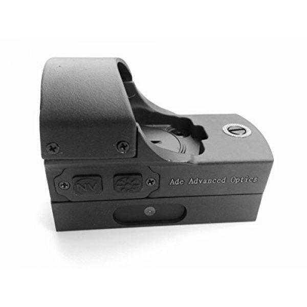 Ade Advanced Optics Airsoft Gun Sight 2 Ade Advanced Optics RD3-011-1 Premium Grade 1x22x33 Red Dot NV Night Vision Dot Sight