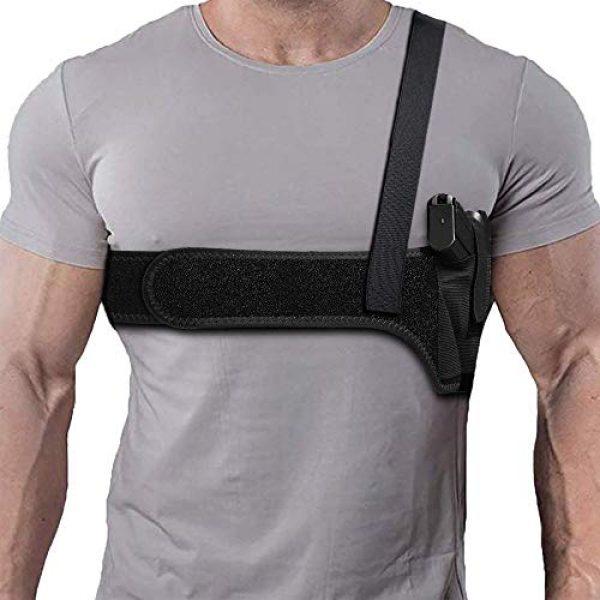 Borge  1 Borge Comfortable Holster for Concealed Carry Shoulder Gun Holster Deep Concealment Shoulder Holster