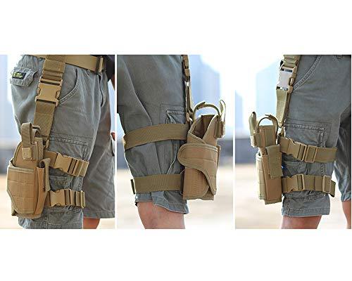 Skingwa  4 Skingwa Tactical Gun Drop Leg Thigh Holster