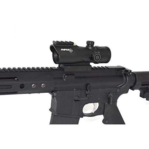Sniper Airsoft Gun Sight 7 Sniper RD30SR 1x30mm 3 MOA Red Dot Sight Fit 20mm Picatinny Rail