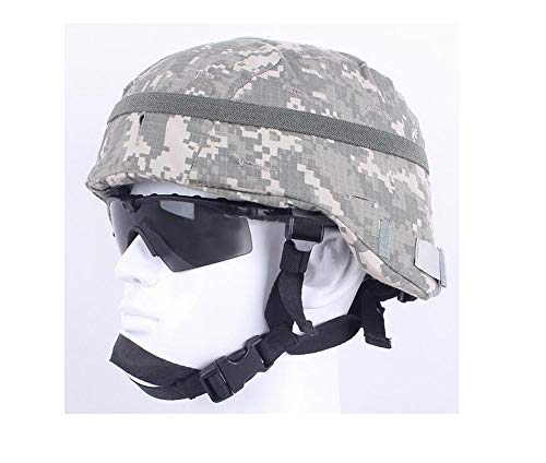 Jadedragon Airsoft Helmet 1 Jadedragon Camouflage Helmet Cloth/Helmet Cover with Elastic Band for The ACH/MICH Helmet One Size