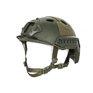 Bravo! Airsoft Helmet 1 Bravo! PJ Helmet Version 3 in (OD Green)