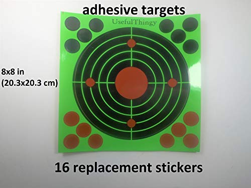 UsefulThingy Airsoft Target 2 UsefulThingy Zombie Shooting Target Splatter Targets 12x17.5 inch - Reactive Paper Shoot n See 10/30 / 50 Pack - Rifle Handgun Shotgun Airsoft BB Gun - Range Accessories