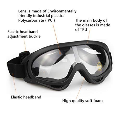 Aoutacc Airsoft Mask 3 Aoutacc Airsoft Mask and Goggles Set