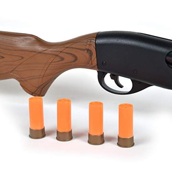 Sunny Days Entertainment  4 Sunny Days Entertainment Pump Action Shotgun with Realistic Sounds and Ejecting Play Shells | Hunting Role Play Toy | Cowboy Costume for Kids Maxx Action