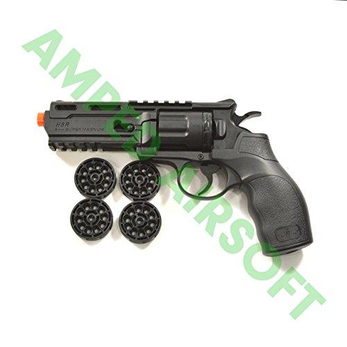 Elite Force Airsoft Pistol 2 Elite Force H8R Revolver - Black Airsoft Pistol/Gun